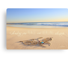 Peace and Healing Canvas Print