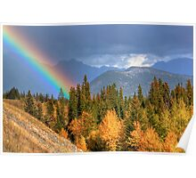 Fall for Rainbows Poster