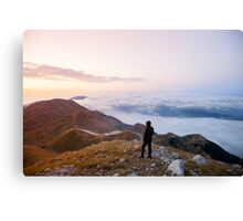 6725ft at 5:30 am  Canvas Print