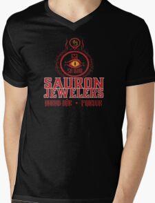 Sauron Jewelers Mens V-Neck T-Shirt