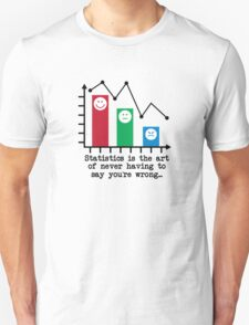 You're Never Wrong, Statistics Humor T-Shirt