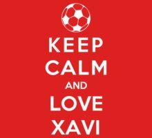 Keep Calm And Love Xavi Kids Clothes