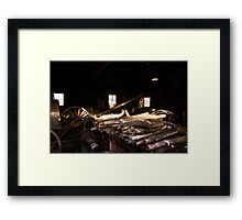 Repair Shop Framed Print