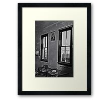 Social Studies Framed Print