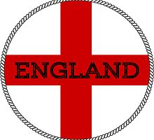 ENGLAND ST GEORGE CROSS by ImageMonkey