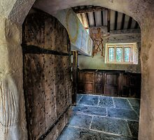 Chapel Entrance by Adrian Evans