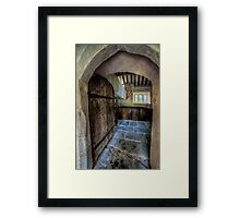 Chapel Entrance Framed Print