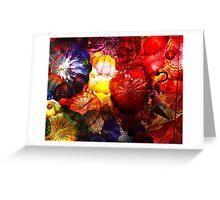 Blown Glass Greeting Card