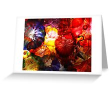 Blown Glass Greeting Card