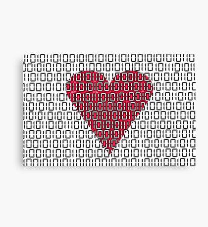 digital love Canvas Print