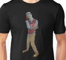 Christmas Zombie Unisex T-Shirt