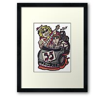 We Can't Drive 55! Framed Print