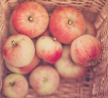 Basketful of Apples  by Nicola  Pearson