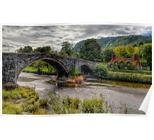 Pont Fawr Bridge Poster
