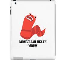 Cute Cartoon Mongolian Death Worm iPad Case/Skin