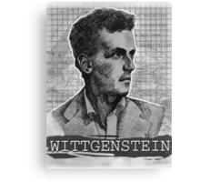 Wittgenstein Original Artwork Canvas Print
