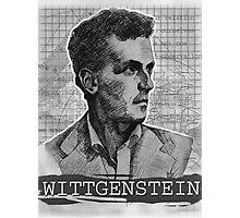 Wittgenstein Original Artwork Photographic Print