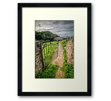 Sacred Path Framed Print