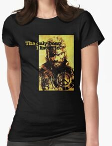 MGS The only boss Womens Fitted T-Shirt