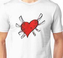 Concrete Heart Unisex T-Shirt