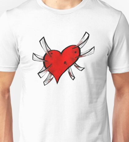 Concrete Heart Unisex T-Shirt
