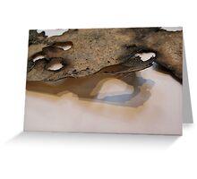 dimension . . . sculptural shadows Greeting Card