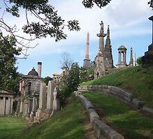 The Necropolis, Glasgow (2) by MagsWilliamson