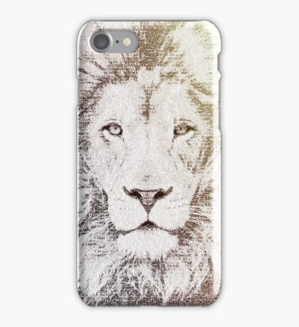 The Intellectual Lion iPhone Case/Skin