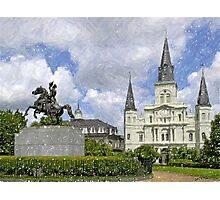 New Orleans Jackson Square Photographic Print