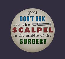 SKQ's Scalpel Analogy Unisex T-Shirt