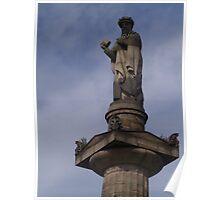 The Necropolis, Glasgow (5), John Knox Statue Poster