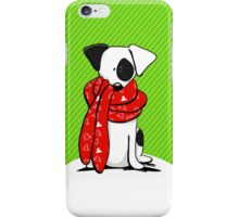 Jack Russell Terrier Mod Red Scarf iPhone Case/Skin