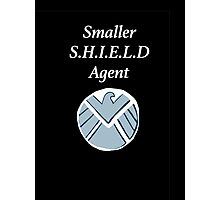 Smaller SHIELD Agent Photographic Print