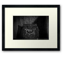 Shelved Framed Print