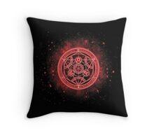 Human transmutation circle Fullmetal Alchemist  Throw Pillow