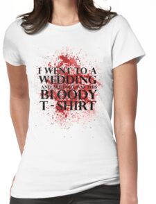 Game of Thrones - Red Wedding T-shirt Womens Fitted T-Shirt