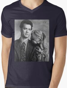 Tom Hanks  Mens V-Neck T-Shirt