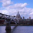 Across Thames by Arvind Singh