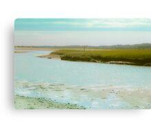 Coastal Photography, Atlantic, Ocean Canvas Print