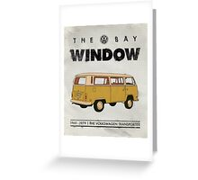 VW Bay Window Greeting Card