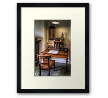 Victorian Pharmacy Office Framed Print