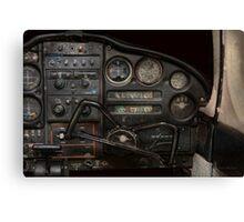 Airplane - Piper PA-28 Cherokee Warrior - A warriors view Canvas Print
