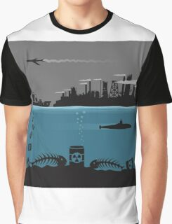 Ecology pollution Graphic T-Shirt
