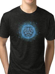 Human transmutation circle Fullmetal Alchemist  Tri-blend T-Shirt