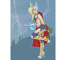 Lady Thor Photographic Print