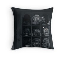 the cabinet Throw Pillow