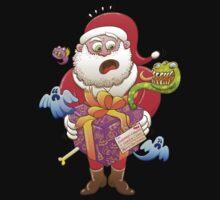 A Christmas Gift from Halloween Creepies to Santa Kids Tee