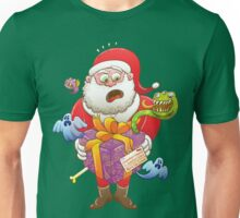 A Christmas Gift from Halloween Creepies to Santa Unisex T-Shirt