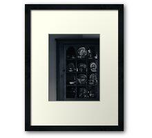 my grandmother's cabinet Framed Print
