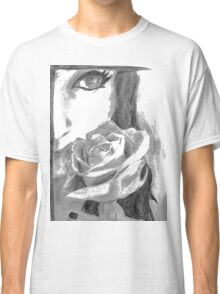 Girl with a rose Classic T-Shirt